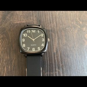 Target silicone men's watch